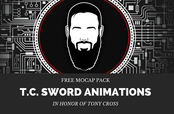 T.C. SWORD ANIMATION PACK FREE DEMO Blog Header
