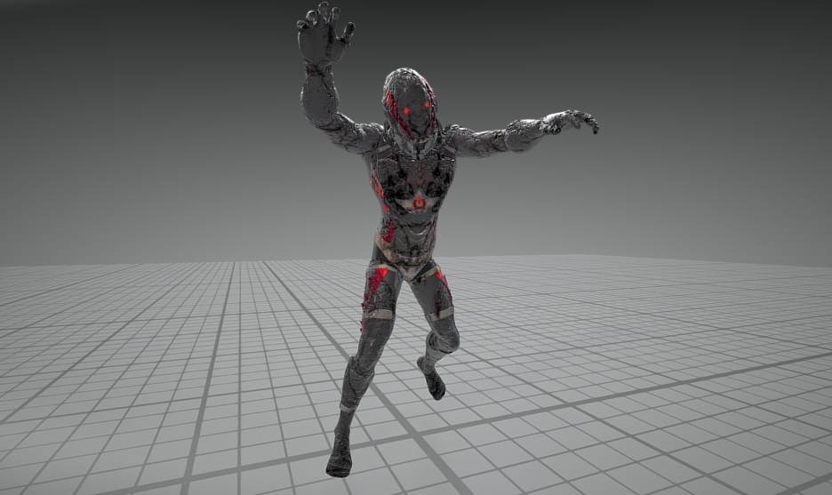 Zombie Animation Update - now with hyper moves Blog Header