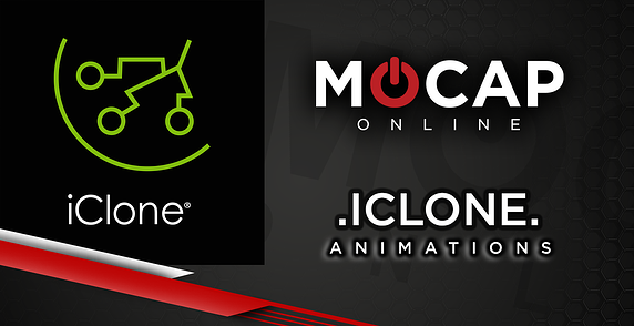 iClone Animations now available at Mocap Online Blog Header