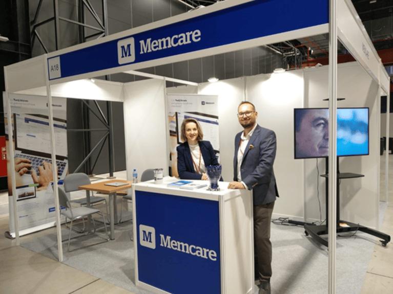 Memcare presenting at Targi Funeral Expo Warszawa