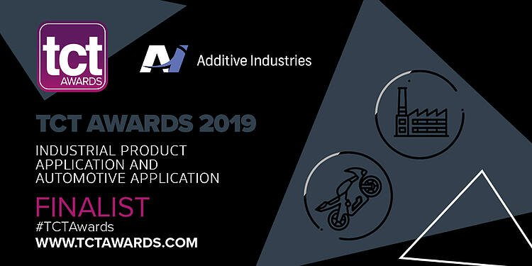 Additive Industries becomes the finalist in two categories at TCT Awards 2019