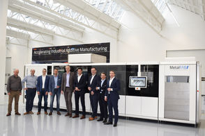 K3D-AddFab scales for industrial additive manufacturing in high tech and aerospace