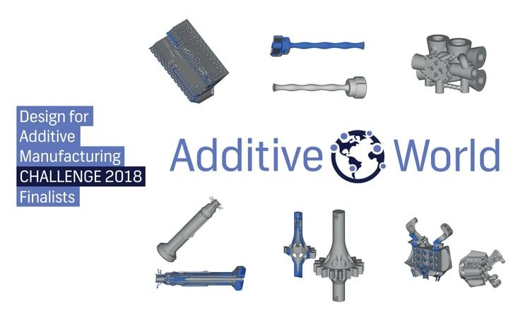 Finalists Design Challenge 2018 inspire industrial 3D printing