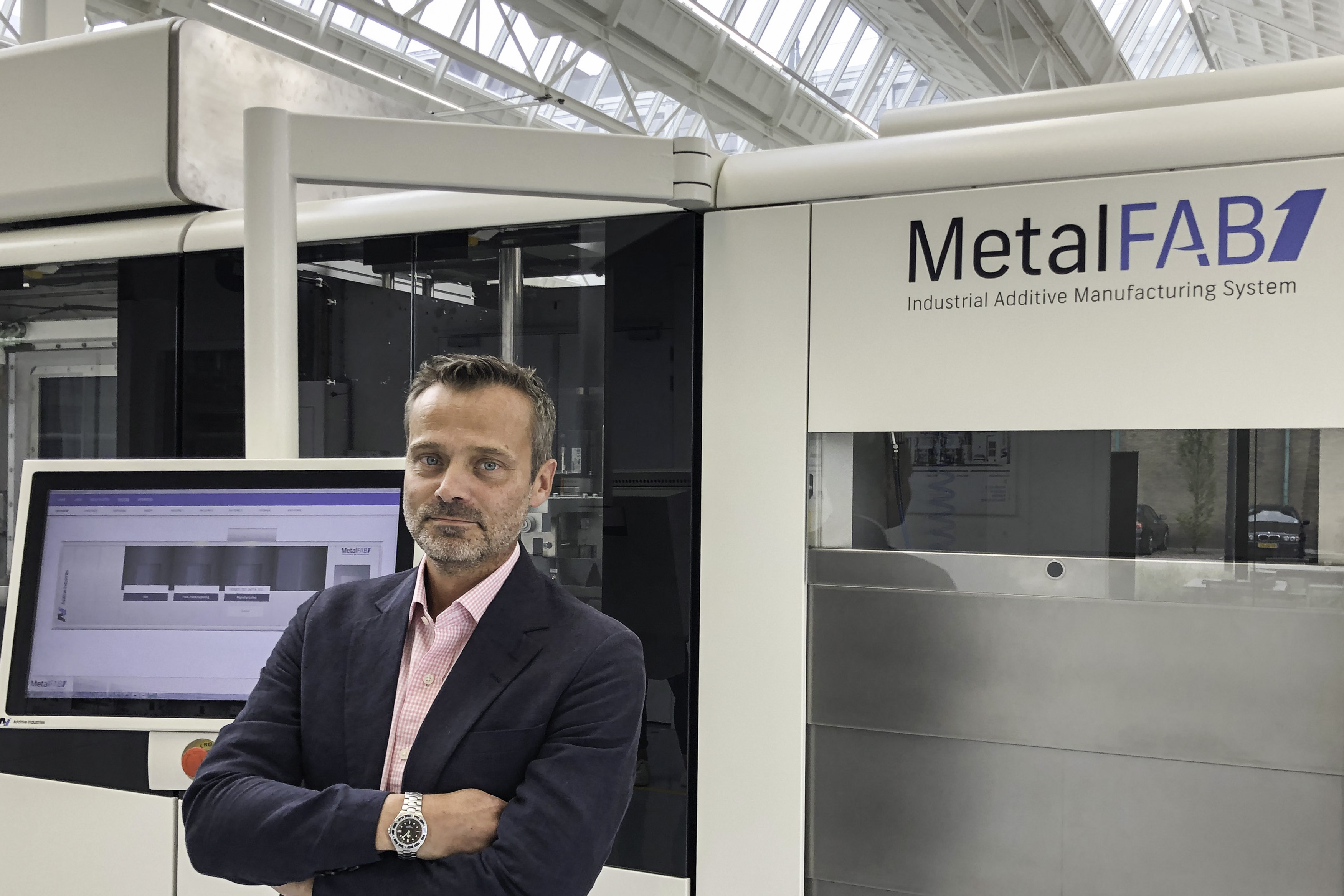 Additive Industries adds metal 3D printing veteran Lars Ryberg to its Sales Team