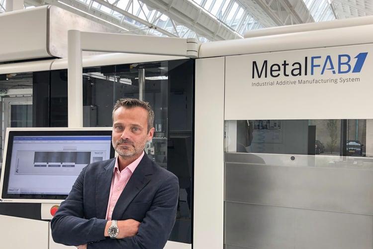 Additive Industries adds metal 3D printing veteran Lars Ryberg to its Sales Team
