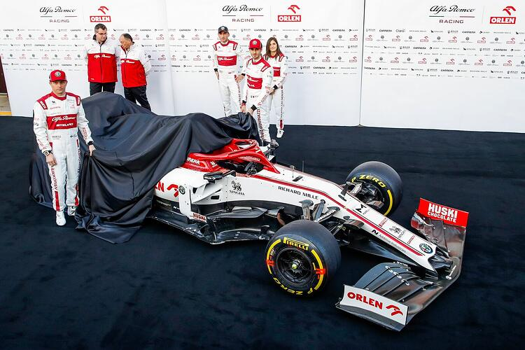 F1 team Alfa Romeo Racing Orlen saved 2% of the car weight in C39 by printing 143 metal parts on MetalFAB1