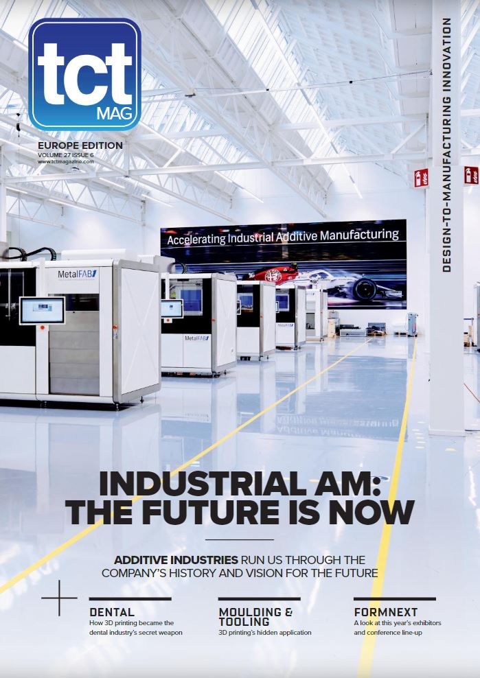 Additive Industries on the cover of the TCT Magazine