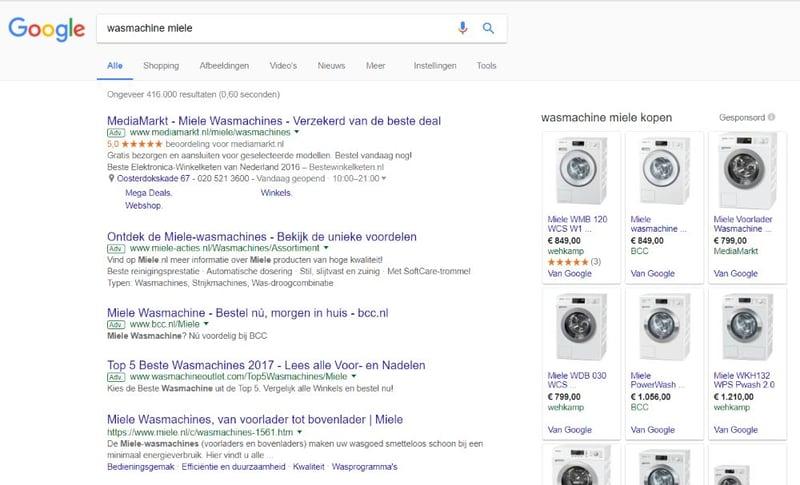Google's visie op gelijke behandeling van prijsvergelijkers