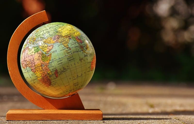 Naar welke landen mag u persoonsgegevens versturen?