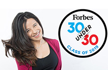 Forbes Magazine's 30 Under 30 honors Daniela V. Fernandez, CEO