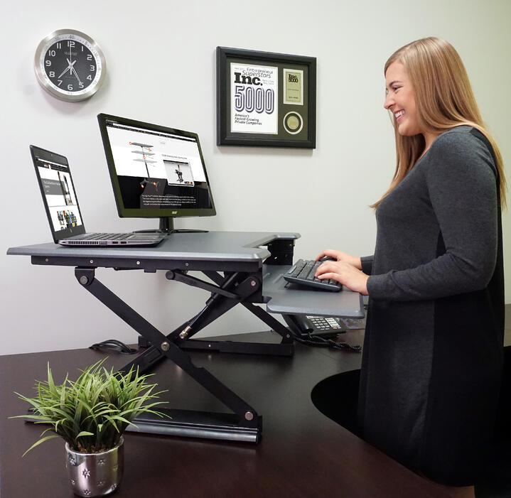 The Best Way to Utilize Your Standing Desk