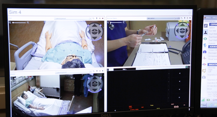 Video in Healthcare Simulation Training Labs