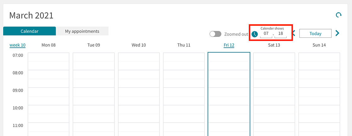 new-default-times-in-calendar-view-interface