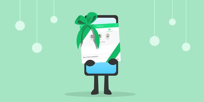 Livechatt till din hemsida - en julklapp till dig och dina kunder