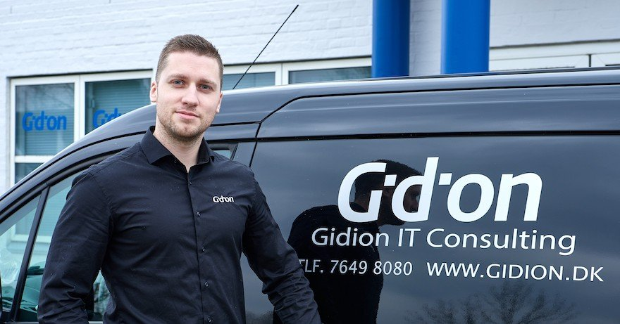"Gidion | ""I don't have to sell Telavox's solution – it sells itself"""