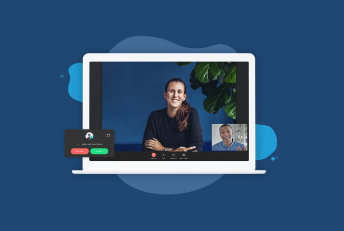 Introducing Telavox video conferencing