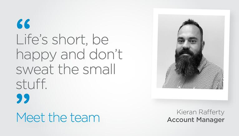 Meet The Team: Kieran