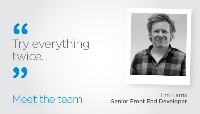 Meet The Team: Tim
