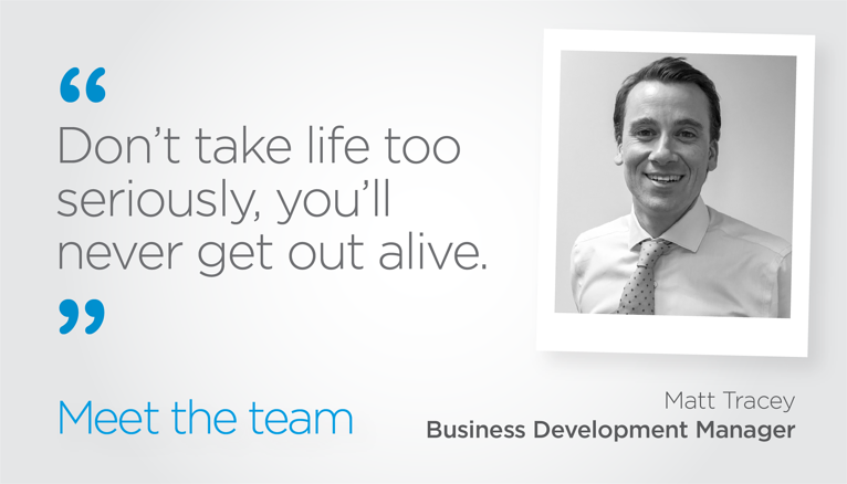 Meet the team: Matt