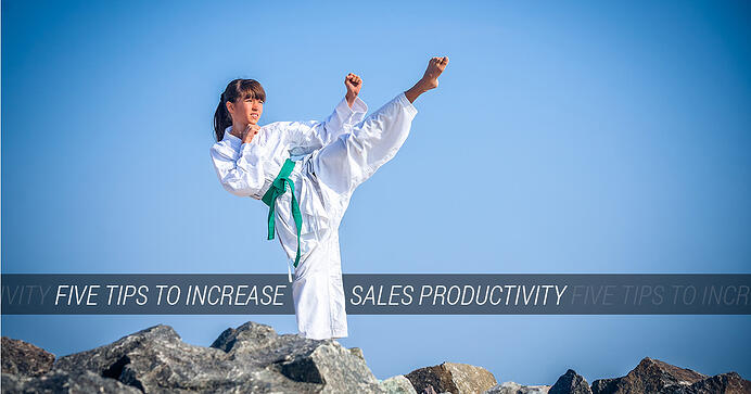 Five Tips to Increase Sales Productivity