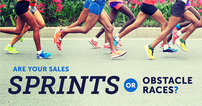 Are Your Sales Like Sprints or Obstacle Races?
