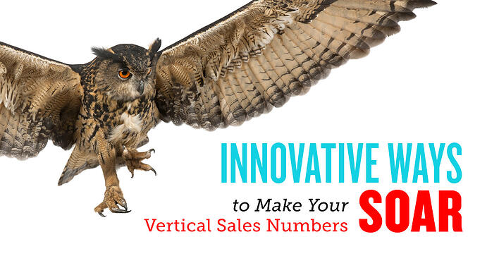 Innovative Ways to Make Your Vertical Sales Numbers Soar