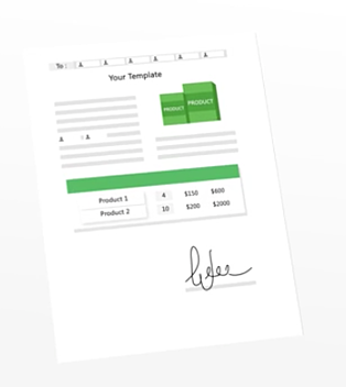 quote roller automatic signature sales rep