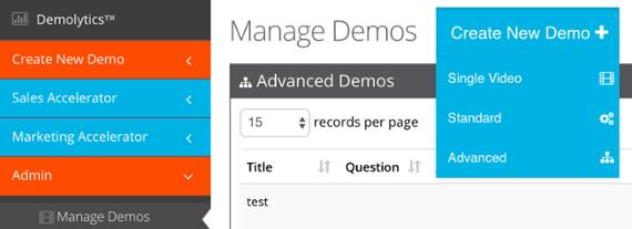 Consensus makes demo management easy