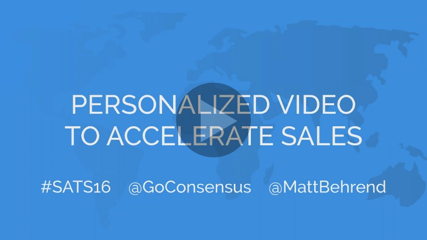 Personalized videos accelerate sales