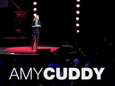 Amy Cuddy talks about the elements of body language in a Ted Talk.