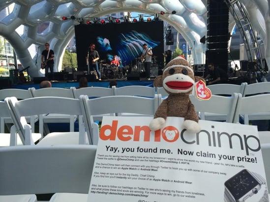 dreamforce-demochimp-chair-stage