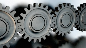 Gears-and-connection