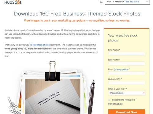hubspot, image, marketing, visual design tool, stock photo
