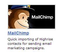 MailChimp Highrise