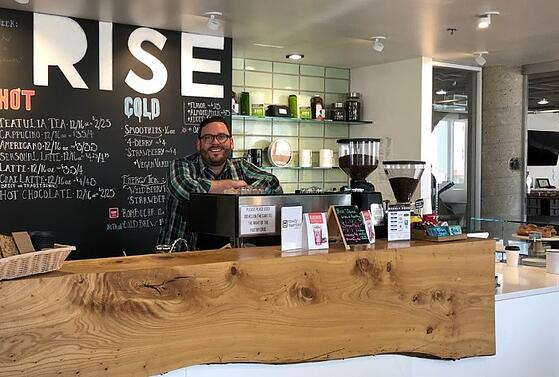 The Man Behind The Espresso: Rise Cafe's Steve Serchia