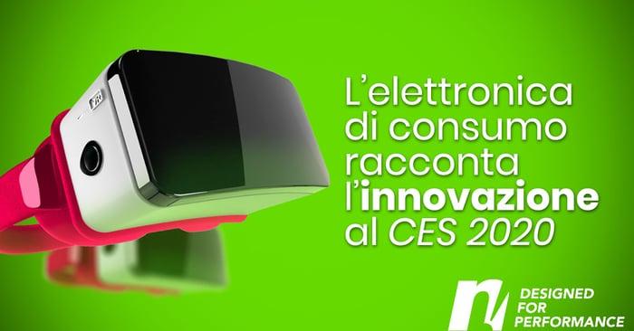 L'elettronica di consumo racconta l'innovazione al CES 2020