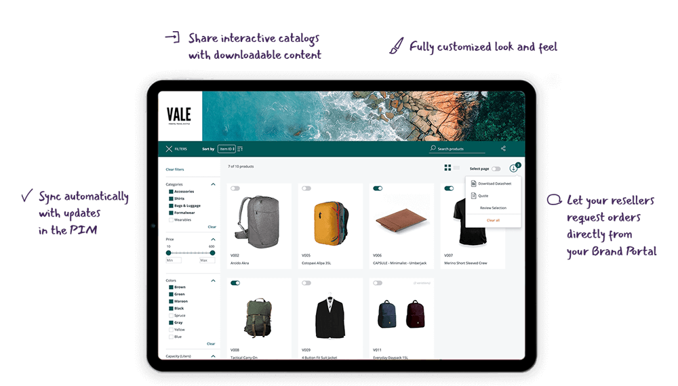 Brand Portal - Loves by sales teams