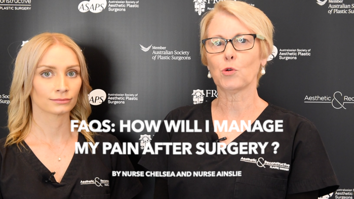 FAQ: Why is pain management so important after plastic and cosmetic surgery?