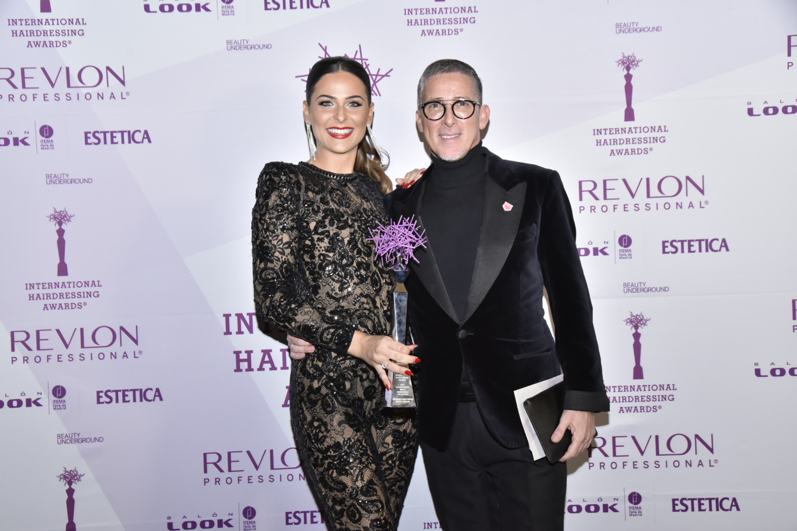 JIM SHAW AND DAISY CARTER OF TONI&GUY BILLERICAY SCOOP COVETED MEN'S AWARD AT 2020 INTERNATIONAL HAIRDRESSING AWARDS