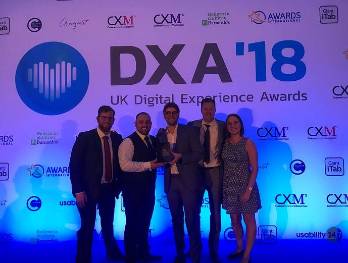 SILVER SUCCESS FOR SALONSPY AS THEY ACHIEVE RECOGNITION AT DIGITAL EXPERIENCE AWARDS