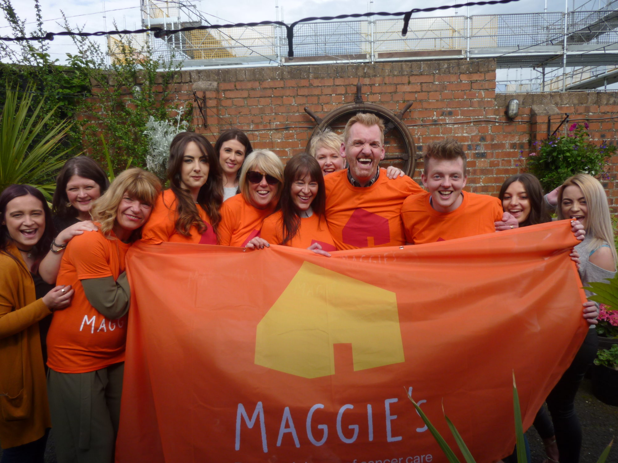 Byron's support for Fife's Maggies Centre