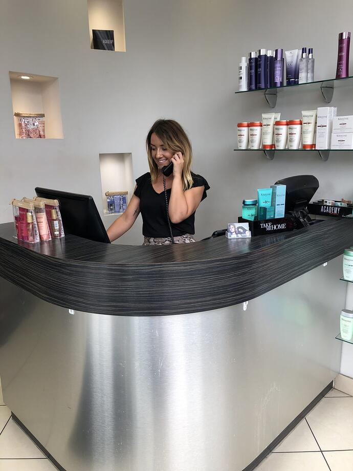 How iSalon works for us - Salv Mule, Academy Salons