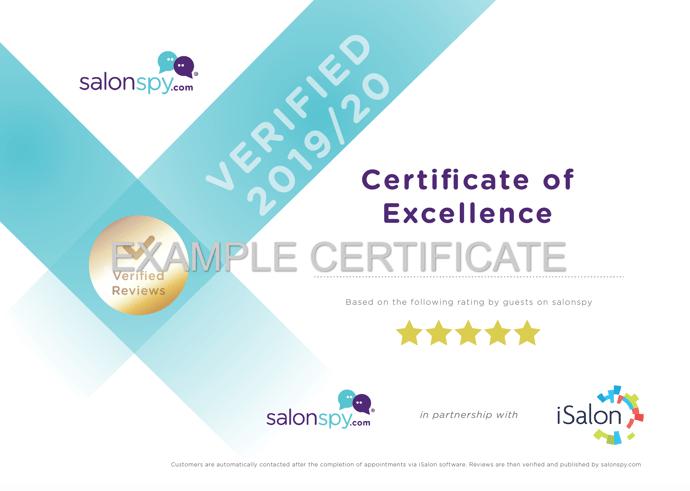 salonspy Awards 2019/2020