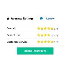 Capterra Dovetail Ratings