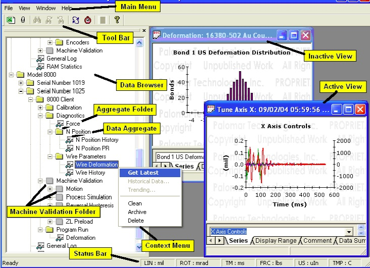 BDM Software Screenshot