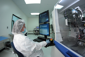 Assembly Services contract manufacturing clean room