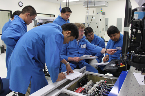semiconductor bonder equipment training classes