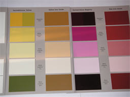 Colorant Database Samples