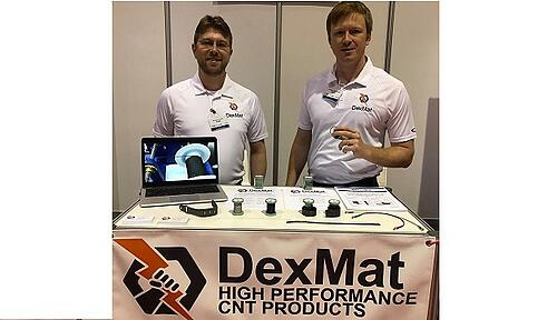 DexMat Carbon Nanotube Wearables IDTechEx, Santa Clara, 2018