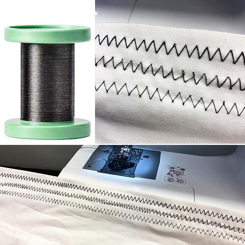 Carbon Nanotube Yarn as Conductive Textile Thread
